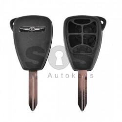 Кутийка за ключ (стандартен) за Chrysler / Dodge / Jeep с 4+1 бутона - CY24
