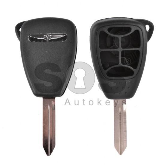 Kутийка за ключ (стандартен) за Chrysler / Dodge / Jeep с 5+1 бутона - CY24