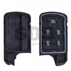 Кутийка за ключ (смарт) за Honda с 3 бутона - HON66 - Стар дизайн - С лого