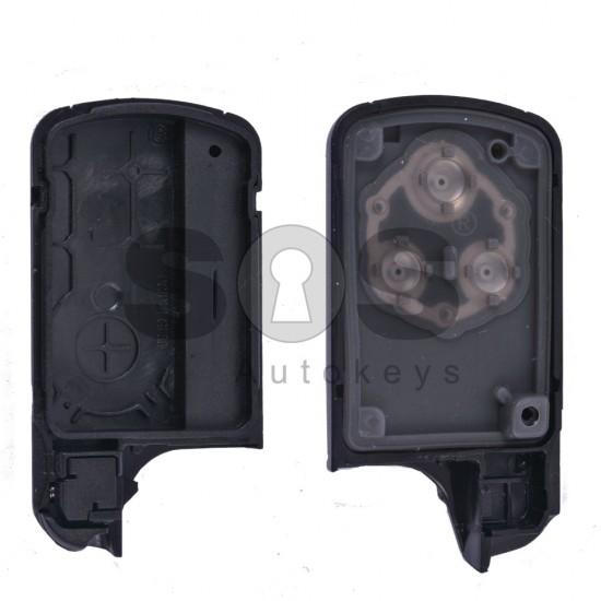 Кутийка за ключ (смарт) за Honda с 3 бутона - HON66 - Стар дизайн