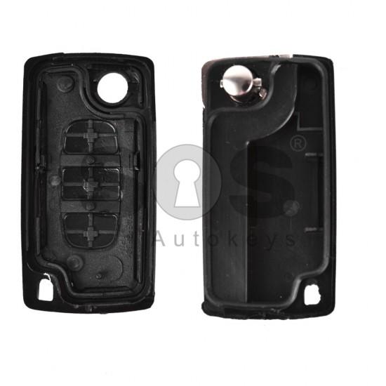 Кутийка за ключ (сгъваем) за PSA с 3 бутона - VA2 - без батерия