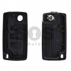 Кутийка за ключ (сгъваем) за PSA с 3 бутона - HU83 - без батерия