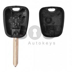 Кутийка за ключ (стандартен) за Citroen с 2 бутона - SX9