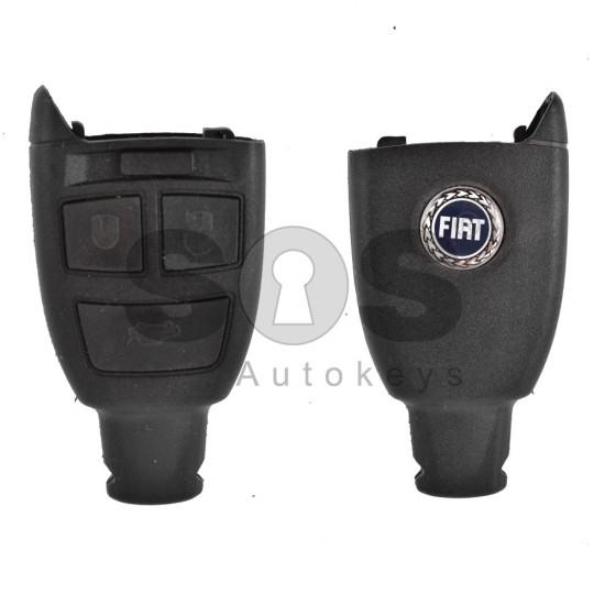 Кутийка за ключ (смарт) за Fiat с 3 бутона