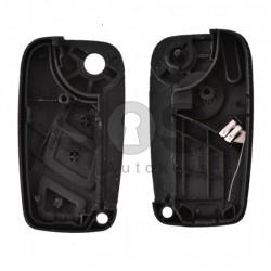 Кутийка за ключ (сгъваем) Fiat Ducato с 3 бутона - SIP22 - с държач за батерия