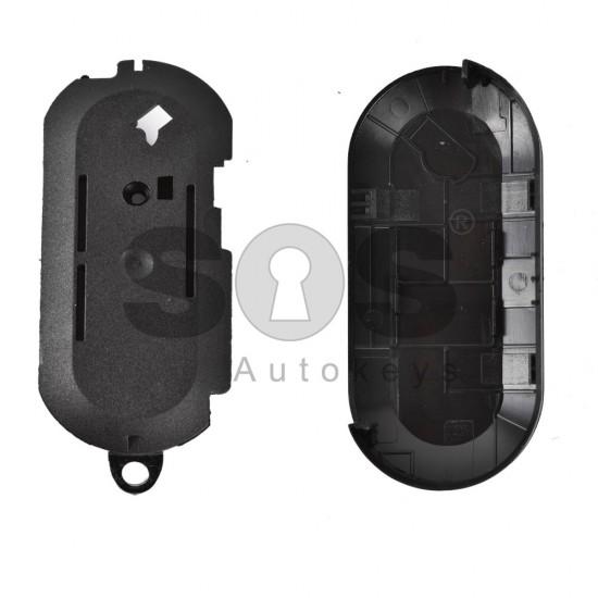 Кутийка за ключ (сгъваем) Fiat Ducato с 3 бутона - SIP22
