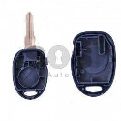 Кутийка за ключ (стандартен) за Fiat с 1 бутон -  GT 15