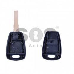 Кутийка за ключ (стандартен) за Fiat с 1 бутон - SIP 22