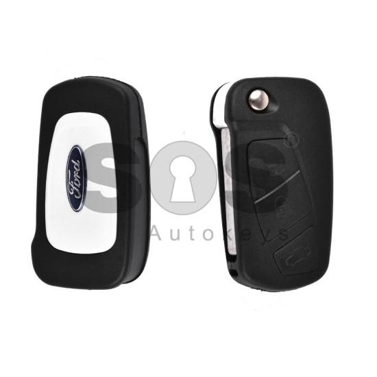 Кутийка за ключ (сгъваем) за Ford с 3 бутона - SIP22