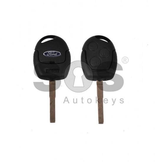 Кутийка за ключ (стандартен) за Ford с 3 бутона - HU101