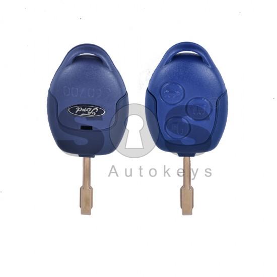 Кутийка за ключ (стандартен) за Ford с 3 бутона - FO21