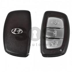 Празна смарт кутийка за ключ за Hyundai Ix35 с 3 бутона HY 22
