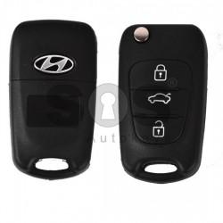 Празна кутийка за ключ за Hyundai i10 i20 i40 с 3 бутона