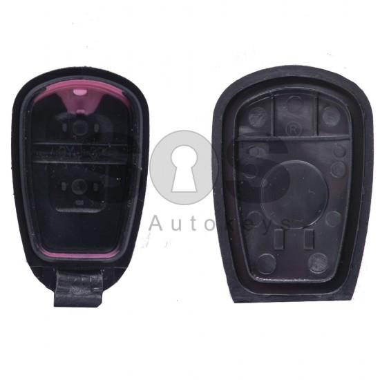 Кутийка за ключ (дистанционно) за Hyundai Elantra / Matrix / Santa Fe с 2 бутона - Без място за батерия