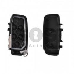 Кутийка за ключ (смарт) за Jaguar с 5 бутона - HU101