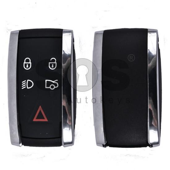 Кутийка за ключ (смарт) за Jaguar с 5 бутона - HU101 - Стар дизайн