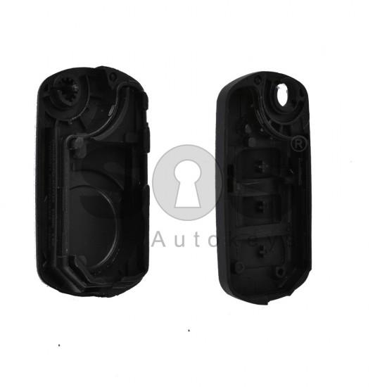 Кутийка за ключ (сгъваем) за Land Rover Discovery  / Range Rover Sport с 3 бутона - HU101