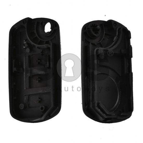Кутийка за ключ (сгъваем) за Land Rover с 3 бутона - HU92