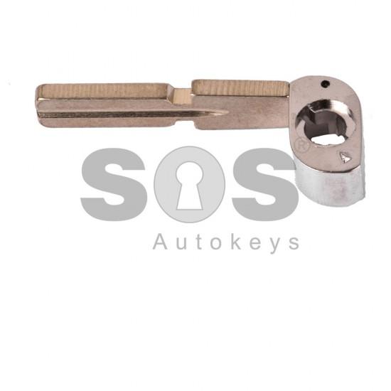 Кутийка за ключ (сгъваем) за Range Rover с 2 бутона - HU58