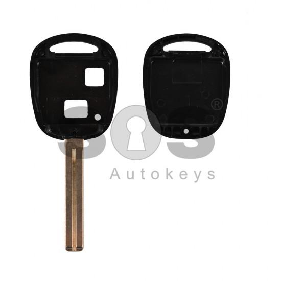 Кутийка за ключ (стандартен) за Lexus IS с 2 бутона - TOY48