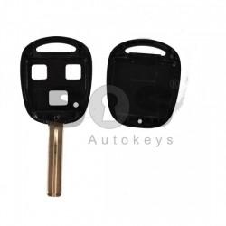 Кутийка за ключ (стандартен) за Lexus IS с 3 бутона - TOY40