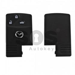 Кутийка за ключ (смарт карта) за Mazda с 3 бутона - MA24R