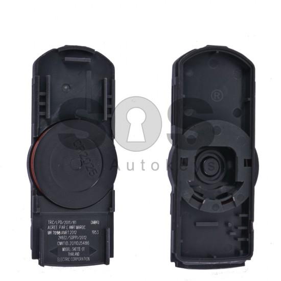 Кутийка за ключ (смарт) за Mazda с 2 бутона - MA24R