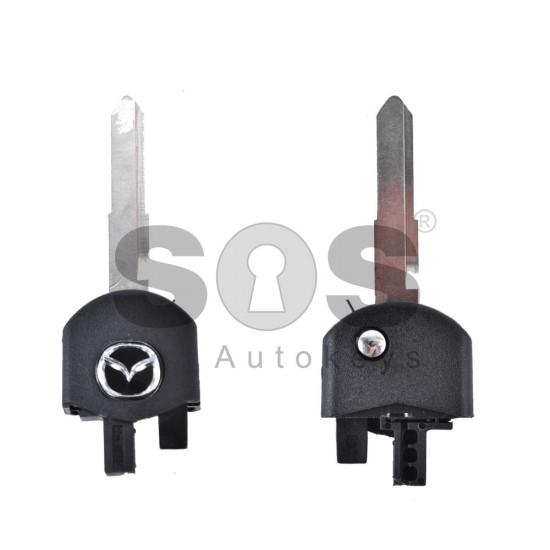 Кутийка за ключ (сгъваем - предна част) за ключ за Mazda - MA24R