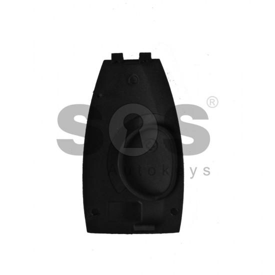 Кутийка за ключ (смарт) за Mercedes FBS3/FBS4 с 3 бутона - HU64 - Рибка