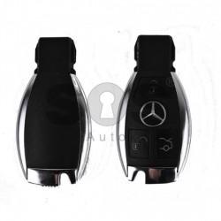 Кутийка за ключ (смарт) за Mercedes с 3 бутона - HU64 - С накрайник - Рибка