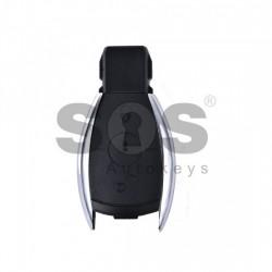 Кутийка за ключ (смарт) за Mercedes с 2 бутона - HU64