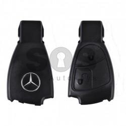 Високо качествена Кутийка за ключ (смарт) за Mercedes с 2 бутона - HU64 - Рибка