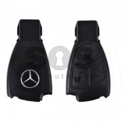 Високо качествена Кутийка за ключ (смарт) за Mercedes с 3 бутона - HU64 - Рибка