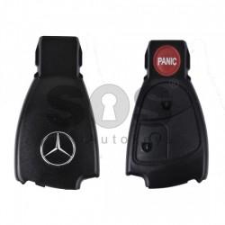 Kутийка за ключ (смарт) за Mercedes с 2+1 бутона - HU64 - Рибка