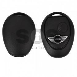 Кутийка за ключ (стандартен) за Mini Cooper One с 2 бутона - HU 92 - Без накрайник