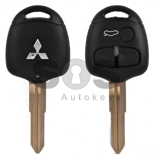 Кутийка за ключ (стандартен) за Mitsubishi с 3 бутона - MIT7AP