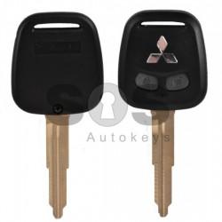 Кутийка за ключ (стандартен) за Mitsubishi с 2 бутона - MIT11R