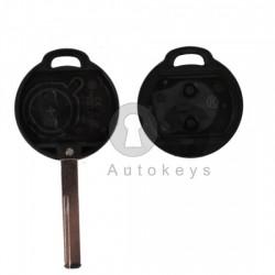 Кутийка за ключ (стандартен) за Mitsubishi Colt с 2 бутона - HU43