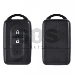 Кутийка за ключ (смарт) за Nissan Micra/Qashqai с 2 бутона - NSN14