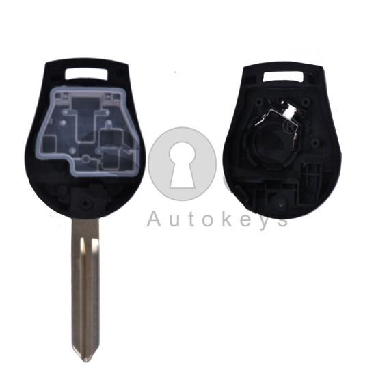 Кутийка за ключ (стандартен) за Nissan Juke с 3 бутона - NSN14