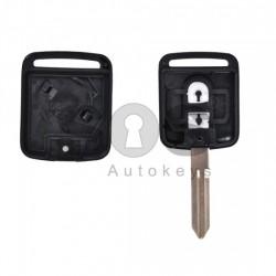 Кутийка за ключ (стандартен) за Nissan с 2 бутона - NSN14