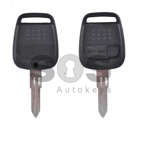 Кутийка за ключ (стандартен) за Nissan с 1 бутон - NSN14