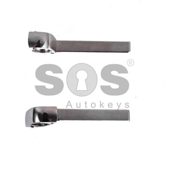 Кутийка за ключ (сгъваем) за Opel Astra/Insignia с 3 бутона - HU100 - с накрайник