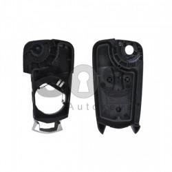 Кутийка за ключ (сгъваем) за Opel Astra/Vectra/Corsa с 2 бутона - HU100 - с накрайник
