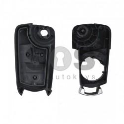 Кутийка за ключ (сгъваем) за Opel Vectra с 3 бутона - HU100 - с накрайник