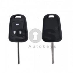Кутийка за ключ (стандартен) за Opel Astra/Insignia с 3 бутона - HU100 - с накрайник