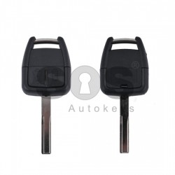 Кутийка за ключ (стандартен) за Opel Vectra с 2 бутона - YM27 - с накрайник