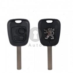 Кутийка за ключ (стандартен) за Peugeot 408 с 2 бутона - VA2