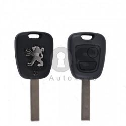 Кутийка за ключ (стандартен) за Peugeot с 2 бутона - HU83