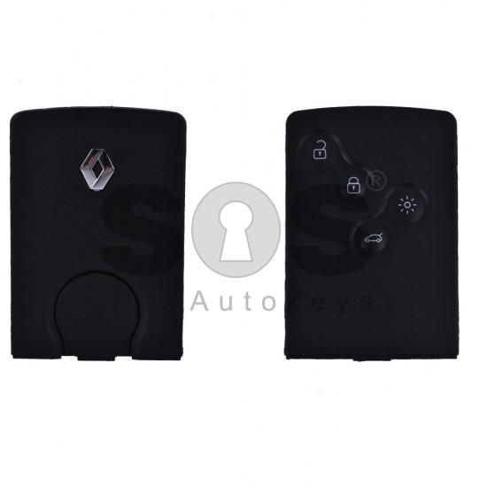 Празна кутийка за ключ за Renault Clio/Megane с 4 бутона - VA 2